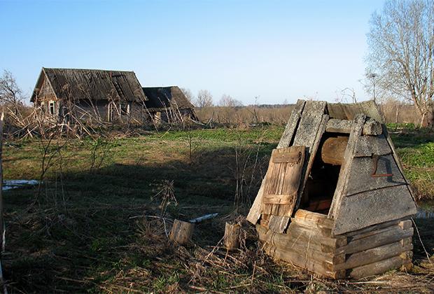 Тверская область, деревня Подсосенье в двух верстах от Берново