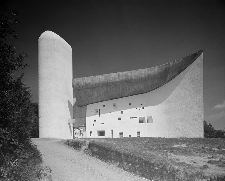 Нотр-Дам-дю-О, Роншан, Франция, 1955 год. Проект Ле Корбюзье