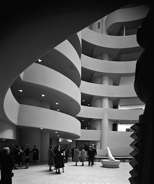 Музей Соломона Гуггенхайма, Нью-Йорк, США, 1959 год. Проект Фрэнка Ллойда Райта