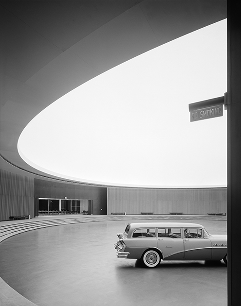 Технический центр General Motors, Уоррен, США, 1950 год. Проект Ээро Сааринена