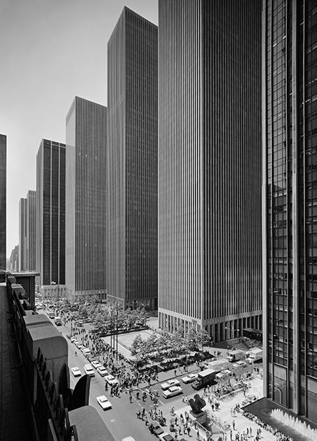 Комплекс Exxon Building, Нью-Йорк, США, 1974 год. Проект бюро Harrison & Abramovitz