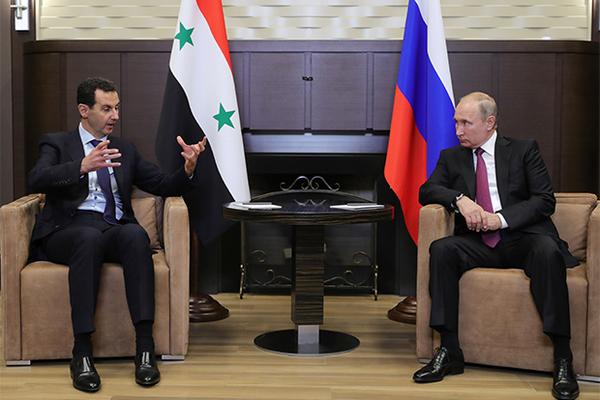 Песков ответил на вопрос о контактах Путина и Асада после крушения Ил-20