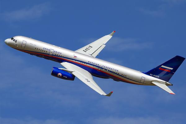 США разрешили российскому самолету-разведчику летать над США