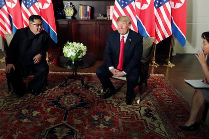 Трамп подтвердил скорую встречу с Ким Чен Ыном