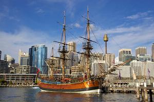 Австралийская реконструкция HMS Endeavour Джеймса Кука
