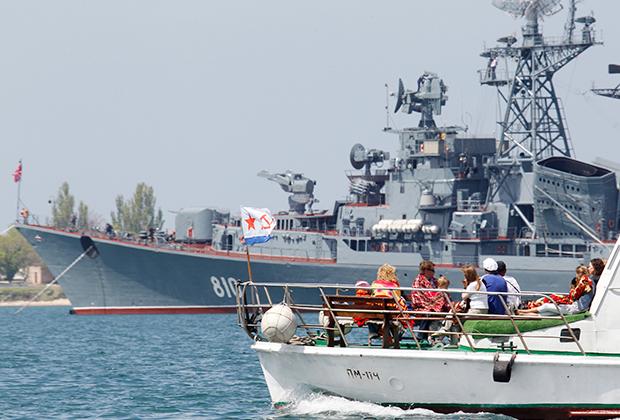 База Черноморского флота России в Севастополе
