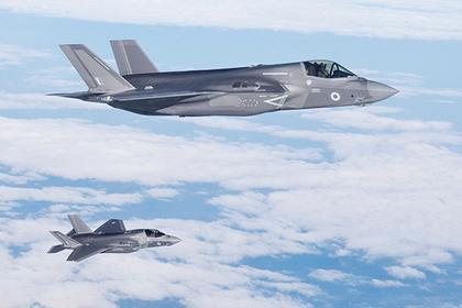 Британские истребители поднялись на перехват российских военных самолетов