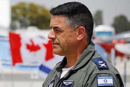 Главком ВВС Израиля отчитался перед Москвой