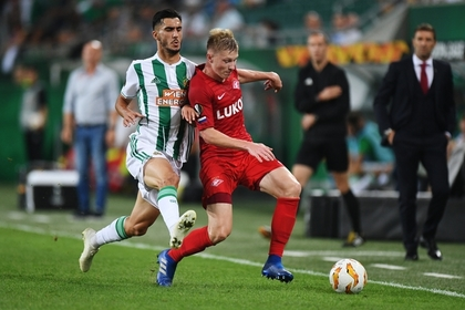 «Спартак» проиграл в первом матче Лиги Европы