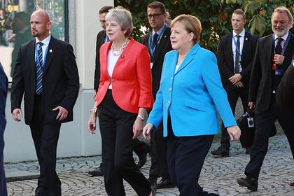 Тереза Мэй, Ангела Меркель Фото: Karl Schoendorfer / REX / Shutterstock