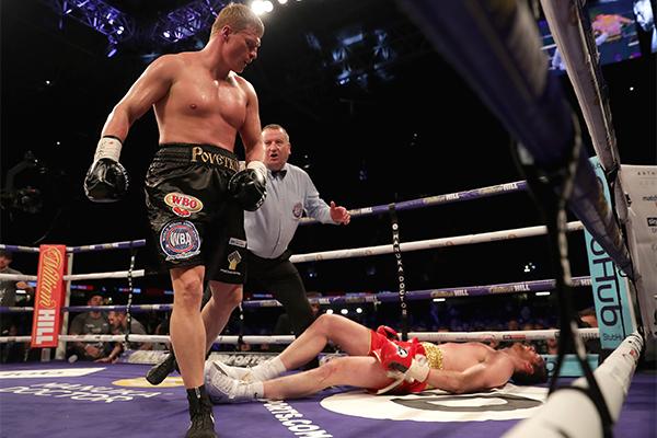 Напряжение напределе: Поветкин одержал победу  дуэль взглядов уДжошуа накануне чемпионского боя