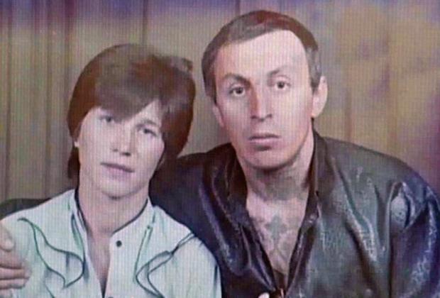 Александр Северов (Саша Север) с женой Галиной