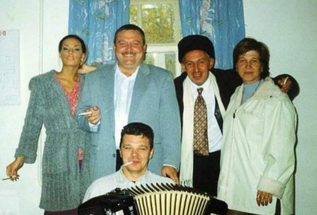 В центре: Михаил Круг и Александр Северов (Север)