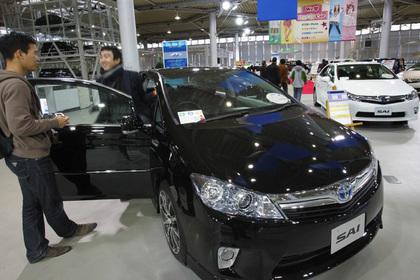 Специалисты составили топ-10 праворульных авто в Российской Федерации