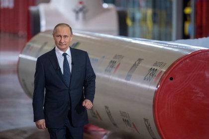 Путин пообещал построить «Северный поток-2» засчет РФ