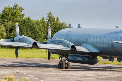 Советский военный самолет радиоэлектронной разведки Ил-20
