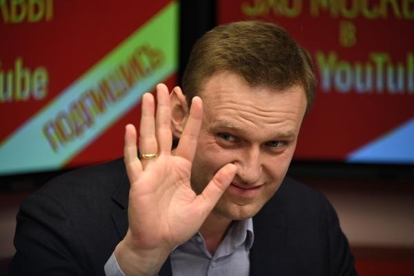Навальный пробыл на свободе пять секунд