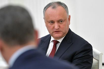 Президента Молдавии отстранили от власти