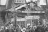 Встреча поезда с челюскинцами и героями-летчиками на станции «Байкал» на пути из Владивостока в Москву, 1934 год