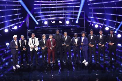 Объявлена сборная лучших футболистов 2018 года