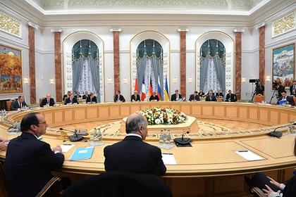 Переговоры по Донбассу оставят в Минске