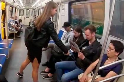 Наказание за раздвинутые ноги в метро оказалось фейком