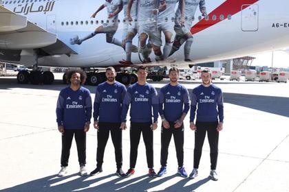 «Реал» показал салон своего роскошного самолета