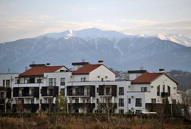 Жилые дома в городе Сочи