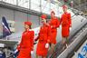 Авиалайнеры Superjet 100 имеют двухклассную компоновку: 12 кресел в салоне класса бизнес и 75 в салоне эконом.
