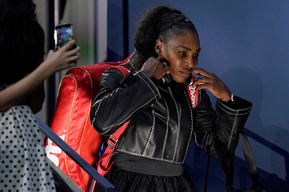 Серена Уильямс отказалась продолжать теннисный сезон