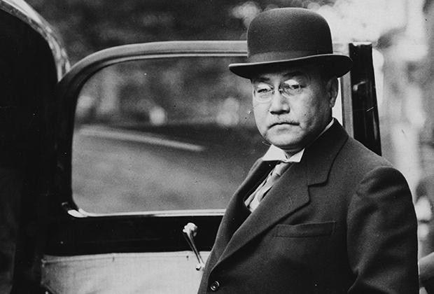Бывший премьер-министр Японии Ёсида Сигэру
