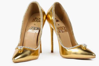 Названа цена самых дорогих туфель в мире