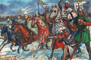 Ливонский орден в битве на Чудском озере