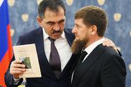Юнус-Бек Евкуров и Рамзан Кадыров