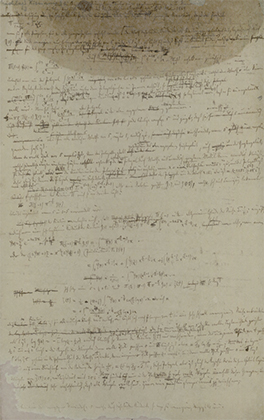 Страница работы Бернхарда Римана