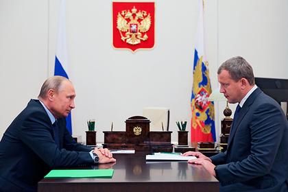 Путин сменил астраханского губернатора