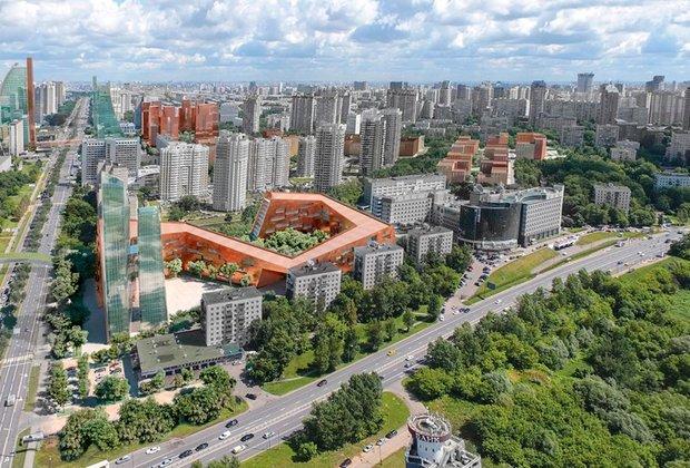 Проект реновации района проспекта Вернадского