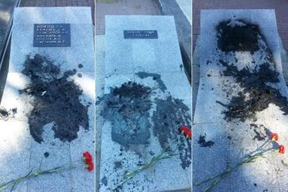 Пенсионер сжег мемориал погибшим в Великой Отечественной войне