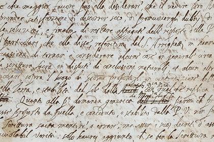 Найдено исчезнувшее письмо Галилея с критикой Церкви
