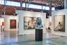 Немецкая галерея Michael Schultz привезла голову гигантского младенца авторства скульптора из Гамбурга Марко Пионо. Дети — постоянная тема его работ, особенно часто в раннем творчестве он изображал свою дочь. Его «Мать Земля» выполнена из алюминия и достигает метра в высоту.