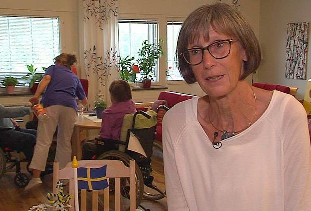 Медсестра в доме престарелых Svartedalens