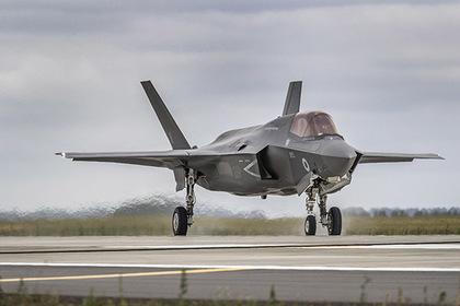 F-35 впервые разбился
