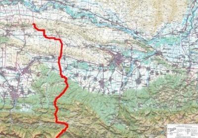 Границу между Чечней и Ингушетией показали на карте
