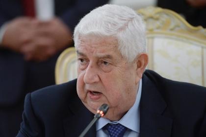 Сирия обвинила США в поддержке терроризма