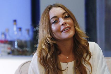 Актрису Линдси Лохан ударили по лицу в Москве