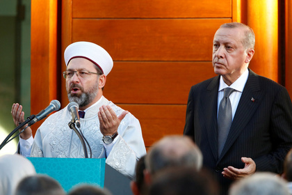 Немецкие политики проигнорировали открытие мечети из-за Эрдогана