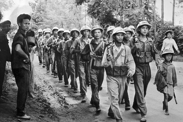 Солдаты Народной армии Вьетнама