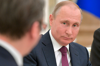 Раскрыта причина встречи Путина с президентом Сербии