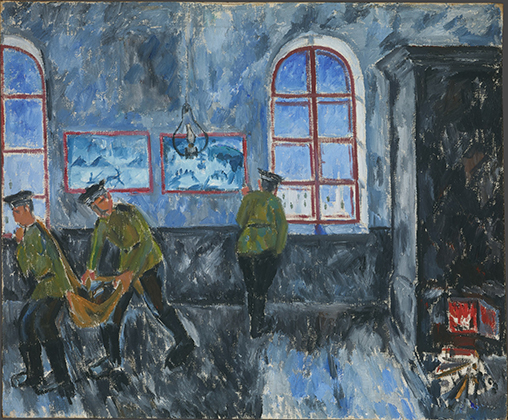 «Утро в казармах», 1910 год