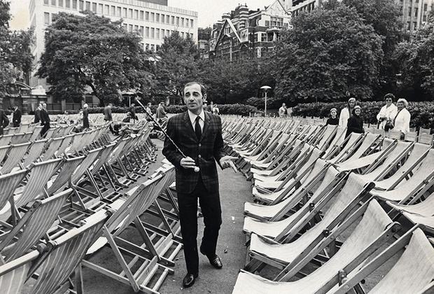 Шарль Азнавур в Лондоне, 1966 год